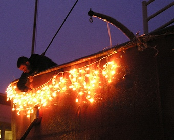 Lighting Up Lightship